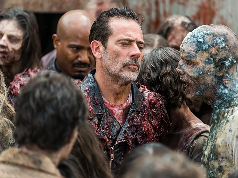 The Walking Dead Season Nine Amc Series Resumes Filming Canceled