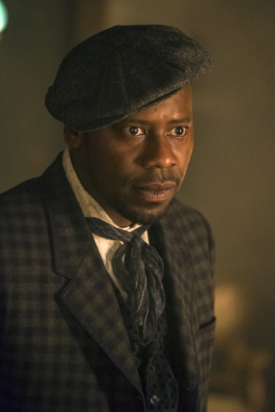 TV series co-creator Shawn Ryan teases Timeless TV show on NBC: season 3? (canceled or renewed?); Pictured: Malcolm Barrett as Rufus Carlin