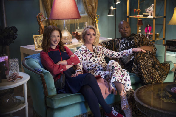 Unbreakable Kimmy Schmidt TV show on Netflix: season 4 (canceled, no season 5)