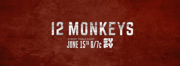 12 Monkeys TV show on Syfy: season 4 ratings (canceled renewed season 5?)