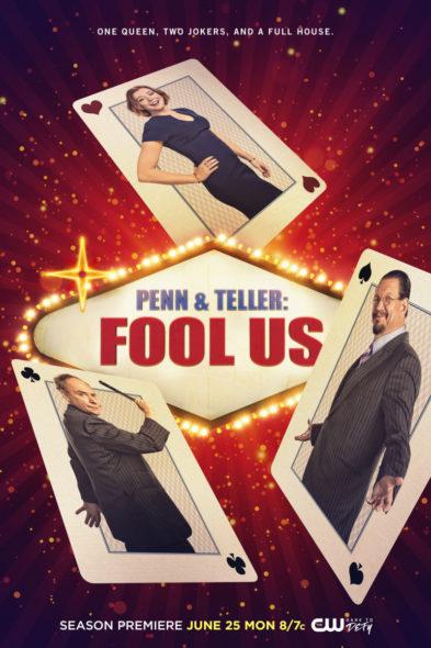 Penn & Teller: Fool Us TV show on The CW: season 5 viewer votes (cancel renew season 6?)