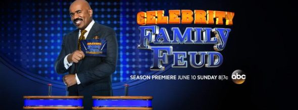 Celebrity Family Feud TV show on ABC: season 4 ratings (canceled renewed season 5?)