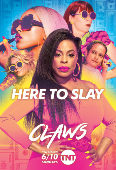 Claws TV show on TNT: season 2 viewer votes episode ratings (cancel renew season 3?)