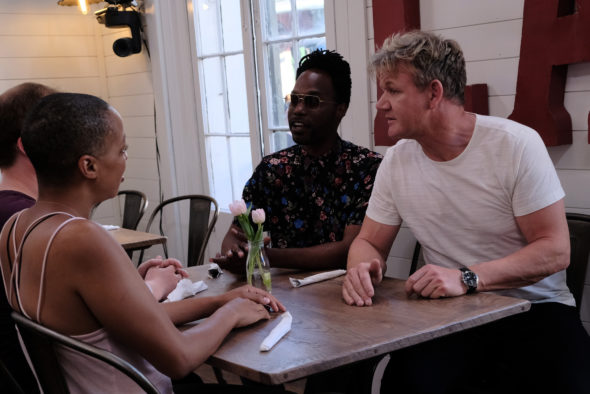 Gordon Ramsay's 24 Hours to Hell and Back TV show on FOX: season 1 viewer votes episode ratings (cancel renew season 2?)