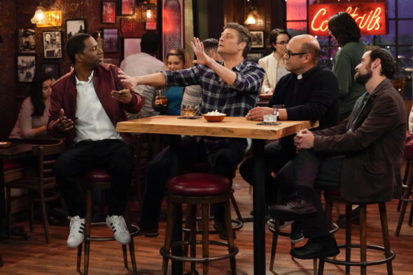 season 1 pulled from air; Living Biblically TV show on CBS: canceled, no season 2 (canceled or renewed?)