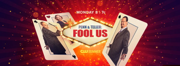 Penn & Teller: Fool Us TV show on The CW: season 5 ratings (canceled or renewed season 6?)