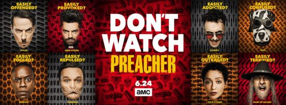 Preacher TV show on AMC: season 3 ratings (canceled renewed season 4?)