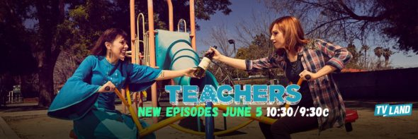 Teachers TV show on TV Land: season 3 viewer votes episode ratings (cancel renew season 4?)