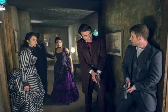 NBC Cancels 'Timeless' After Two Seasons