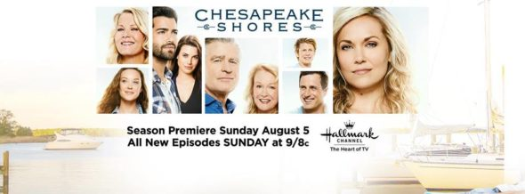 Chesapeake Shores TV show on Hallmark: season 3 ratings (canceled or renewed season 4?)
