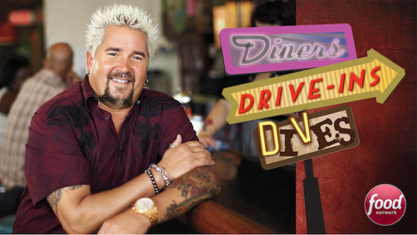 Diners, Drive-Ins, and Dives TV show on Food Network: (canceled or renewed?)