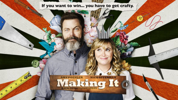 Making It TV show on NBC: season 1 ratings (canceled or renewed season 2?)