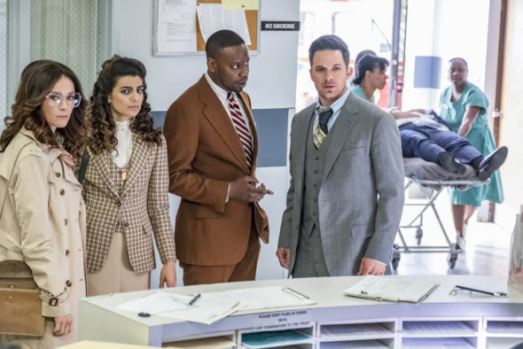 Timeless TV show on NBC: canceled, no season 3; movie still possible (canceled or renewed?)