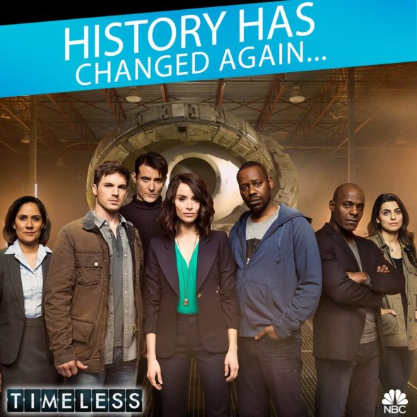 Timeless TV show on NBC: canceled or renewed? (Timeless 2-part finale)