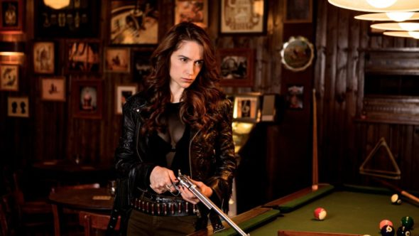 Wynonna Earp TV show on Syfy: season 4 renewal
