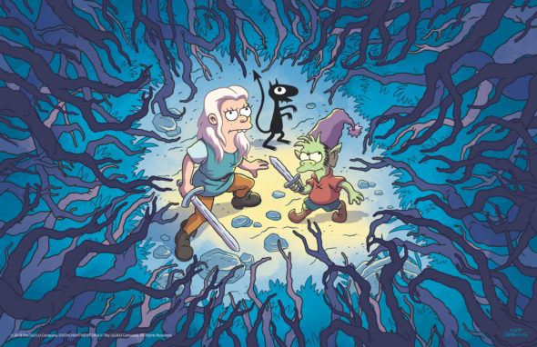 Disenchantment TV show on Netflix: canceled or renewed for another season?