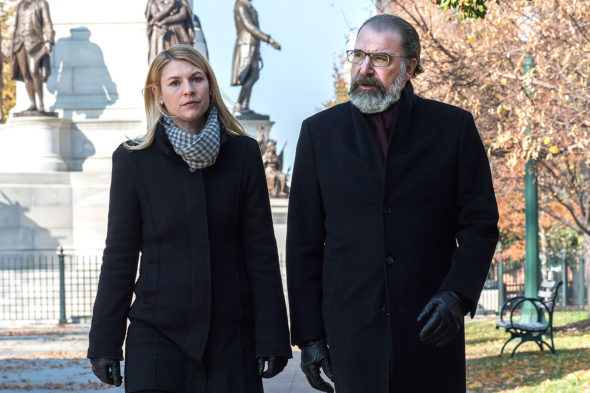 Homeland TV show on Showtime: ending, no season 9