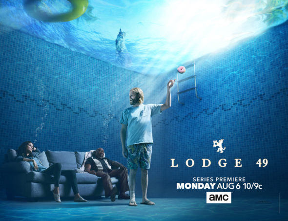 Lodge 49 TV show on AMC: season 1 ratings (canceled or renewed season 2?)