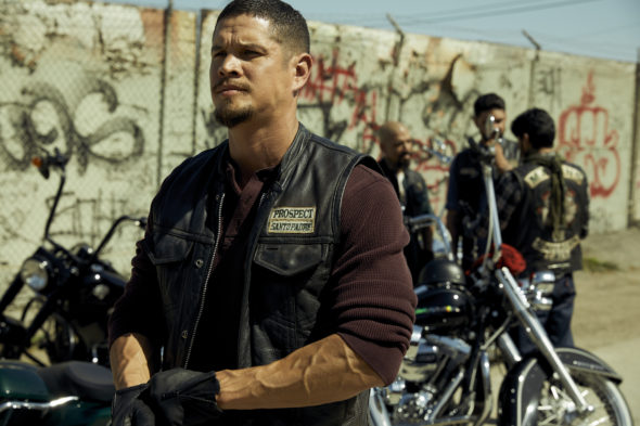 MAYANS MC TV show on FX: canceled or renewed for another season?; Pictured: JD Pardo as EZ Reyes