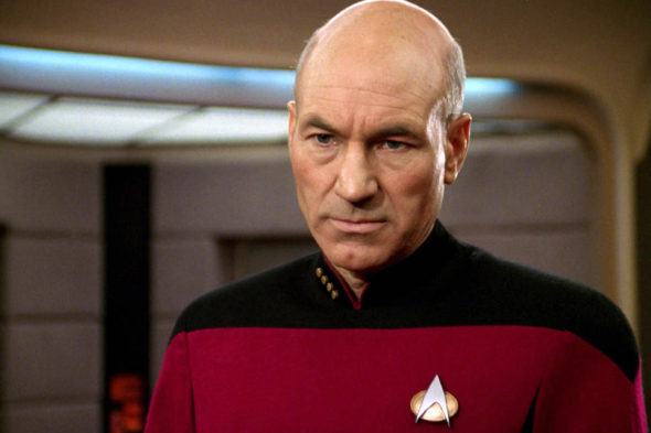 Patrick Stewart from Star Trek: The Next Generation