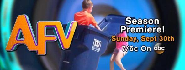 America's Funniest Home Videos TV show on ABC: season 29 ratings (canceled or renewed season 30?)