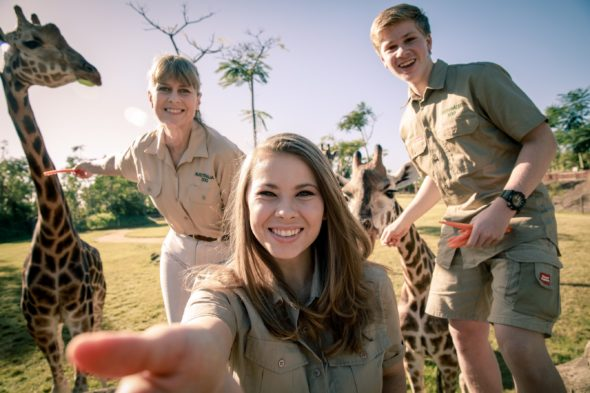Crikey! It's the Irwins TV show on Animal Planet: (canceled or renewed?)