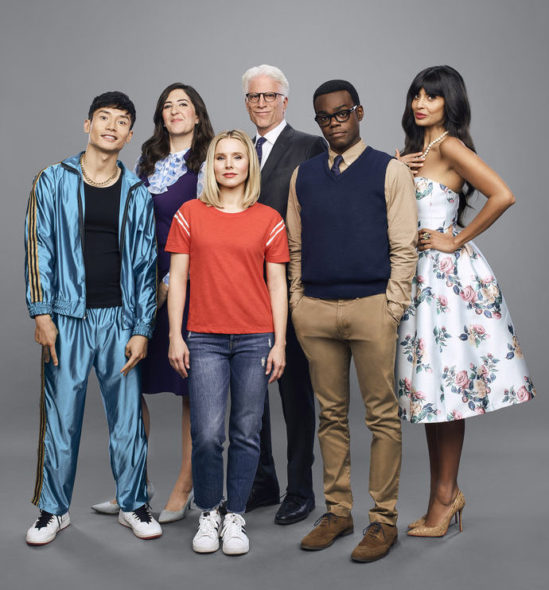 The Good Place TV show on NBC: season 3 viewer votes episode ratings (cancel or renew season 4?)