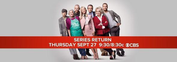 Murphy Brown TV show on CBS: season 11 ratings (canceled or renewed season 12?)
