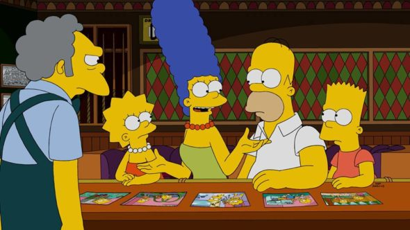 The Simpsons TV show on FOX: season 30 viewer votes (cancel or renew?)