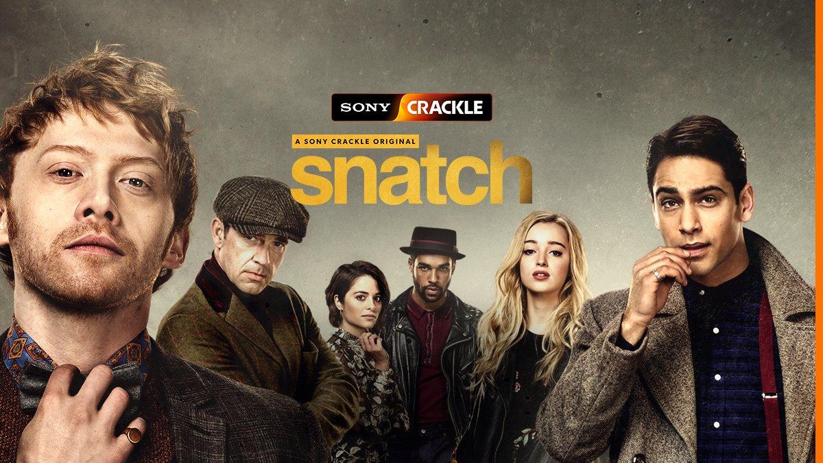 Snatch,  Crackle, product placement, entertainment marketing, svod platform