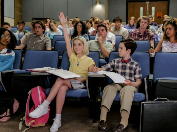 Young Sheldon TV show on CBS: season 2 viewer votes episode ratings (cancel or renew season 3?)