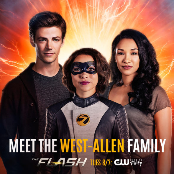 Flash TV Show on CW: Season Five Viewer Votes - canceled TV