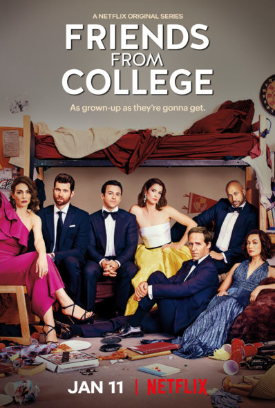 release date; Friends from College TV show on Netflix: season 2 premiere date (canceled or renewed?)