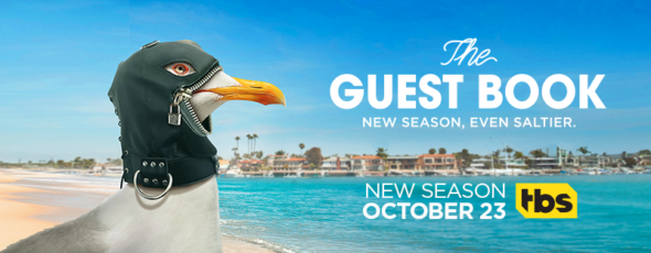 The Guest Book TV show on TBS: season 2 ratings (canceled or renewed season 3?)