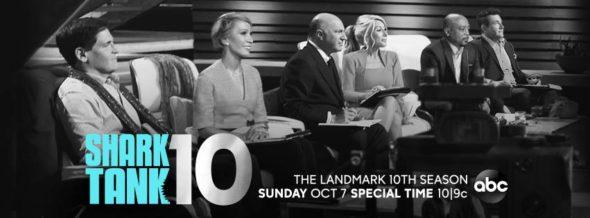 Shark Tank TV show on ABC: season 10 ratings (canceled or renewed season 11?)