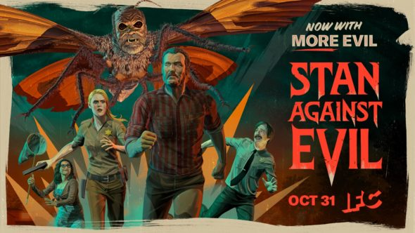 Stan Against Evil TV show on IFC: season 3 ratings (canceled or renewed season 4?)