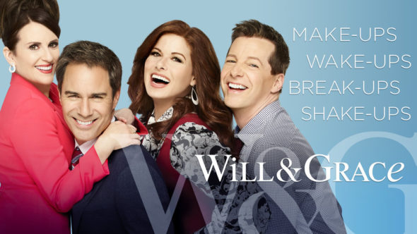 Will & Grace TV show on NBC: season 10 ratings (canceled or renewed season 11?)
