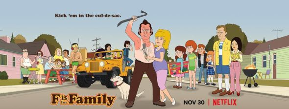 F Is for Family TV show on Netflix: season 3 viewer votes (cancel or renew season 4?)