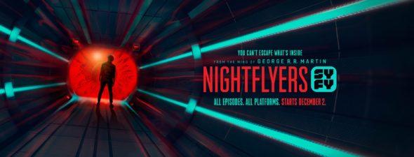 Nightflyers TV show on Syfy: season 1 ratings (canceled or renewed season 2?)