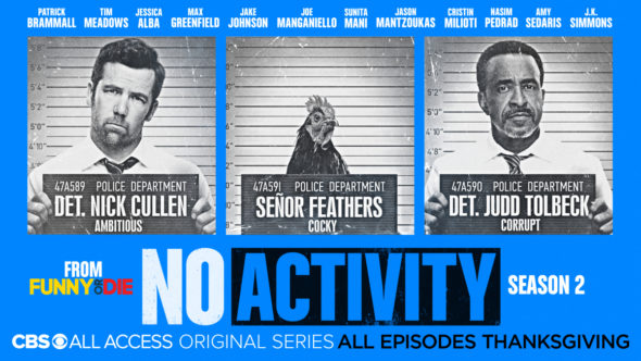No Activity TV show on CBS All Access: season 2 viewer votes (cancel or renew season 3?)