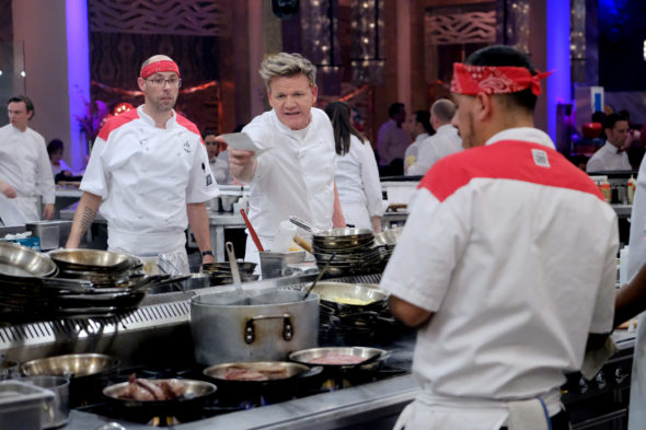 Hell's Kitchen TV Show on FOX: canceled or renewed?