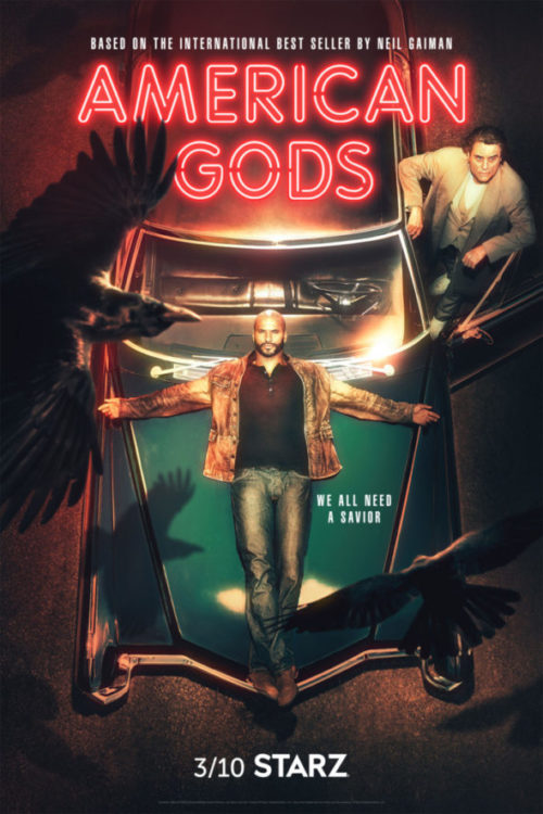 American Gods TV show on Starz: season 2 (canceled or renewed?)