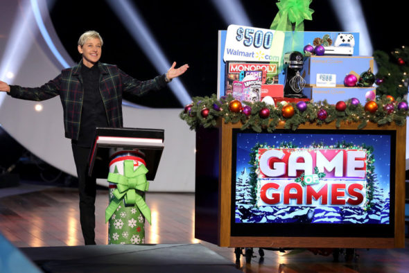 Ellen's Game of Games TV show on NBC: season 2 viewer votes (cancel or renew season 3?)