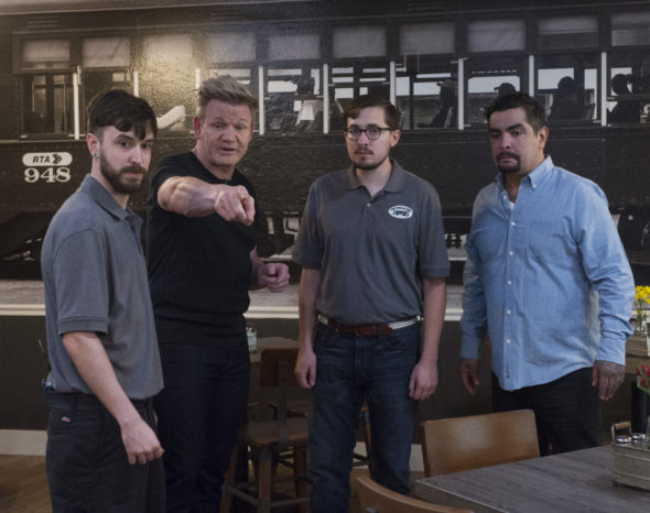 Gordon Ramsay's 24 Hours to Hell and Back TV show on FOX: season 2 viewer votes (cancel or renew season 3?)