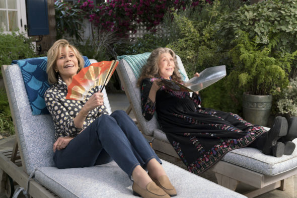 Grace and Frankie TV show on Netflix: season 5 premiere date (canceled or renewed?)