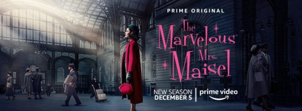 The Marvelous Mrs. Maisel TV show on Amazon: canceled or season 3? (release date); Vulture Watch