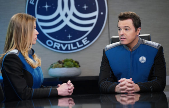 A still from the Orville