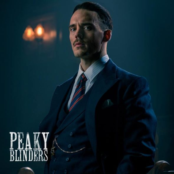 First Look: Sam Clafin in Peaky Blinders TV show on Netflix: season 5 (canceled or renewed?)