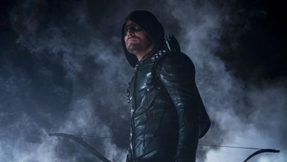 Arrow TV show on The CW: season 8 renewal