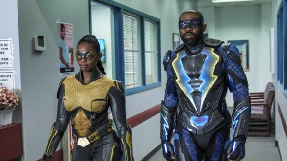 Black Lightning TV show on The CW: season 3 renewal